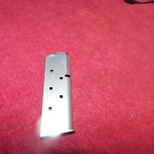 Chip McCormick Officers Model 45acp magazine 7 round stainless Flat Follower #2