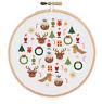 Christmas Cross Stitch Pattern | Festive Cross Stitch | Cross Stitch Sampler