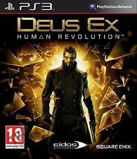 DEUS EX: HUMAN REVOLUTION PLAYSTATION 3  PS3   NUOVO !!!