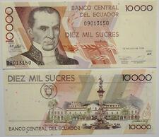 Ecuador 10000 sucres (12.7.1999) UNC (b1)