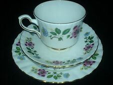 ROYAL STAFFORD  Bird of Paradise  Cup/Saucer/Plate Trio Set x 1 (4 available )