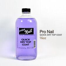 Pro Nail Nail Polish Quick Dry Top Coat 16oz / 473ml