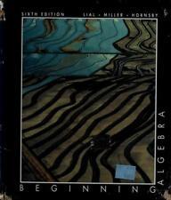 Beginning Algebra by Charles D. Miller; Margaret L. Lial; Hornsby, E. John, Jr.