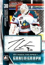 2013-14 Between the Pipes Auto #AJC Jordon Cooke