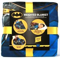 "1 Count Franco Manufacturing Co DC Batman 36"" X 48"" 4.5 Lbs Weighted Blanket"