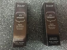2-Julep It's Whipped Matte Lip Mousse Lipstick Ultimate Dare Full Size Ulta New
