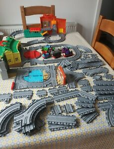 Thomas Take n Play Tidmouth Sodor Wharf Dieselworks Mighty Mac Charlie Bundle