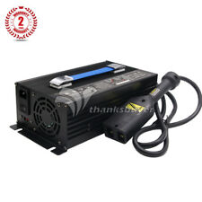 36V Golf Cart Battery Charger Input 220V + Powerwise Cable D Style for EZ-GO thx
