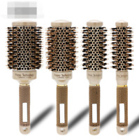 1X Professional Thermal Ceramic & Ionic Round Barrel Hair Brush Boar Better