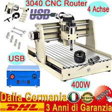 400W 4 Assi CNC 3040T Router Incisore Macchina Engraver Engraving Desktop USB SS