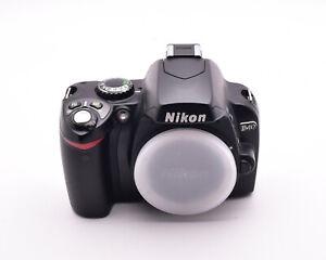 Nikon Black D40 6.1 MP DX Digital Camera Body 16258 Actuations READ (#8866)