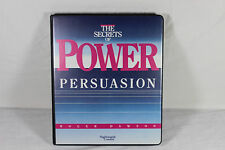 The Secrets of Power Persuasion 6-Cassette Home Study Course ~ Roger Dawson