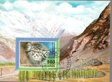 0023+ TIMBRE TADJIKISTAN  BLOC  CHAT    1996