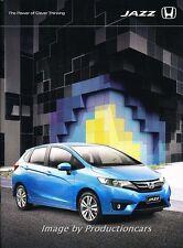 2015 Honda Jazz 32-page Australia Car Sales Brochure Catalog
