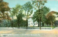 Rochester NY The East Avenue Residence of Walter N. Powers