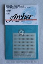 Archer 1/35 Afrika Korps Heer Shoulder Boards for Infantry Troops FG35054A