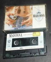 MADONNA different COVER turkish casette cassette USED TAPE RARE HARD TO FIND