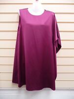 FRENCH CONNECTION DRESS SIZE 14 DARK MAGENTA PARTY    BNWT   (A001