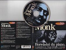 CD PICTURE DIGIPACK 13T THELONIOUS MONK HORS-LA-LOI DU PIANO DE 1996