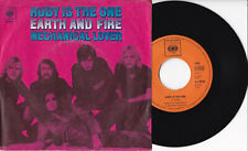 """Earth And Fire -Ruby Is The One / Mechanical Lover- 7"""" 45 GER, CBS 1970"""