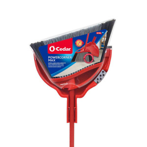 Broom W/ Large Angle Head Dust Pan Multi Surface Sweep Home Cleaning Tool Set