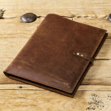 "2020 iPad Pro 12.9"" Leather Case Handmade Genuine Leather Folio Smart Cover"