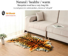 Luxury Tiger Rug/Blanket Genuine Australian Sheepskin/wool