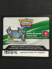 Pokemon Solgaleo Gx Sm16 Legends of Alola 2017 Online Promo Code