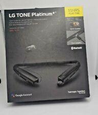LG TONE PLATINUM+ Bluetooth Headset Neckband   HBS-1125  - Harmon Kardon -