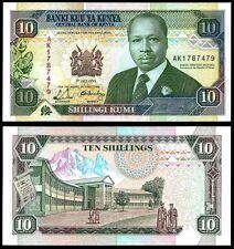 Kenya 10 SHILLINGS 1990 P 24b UNC