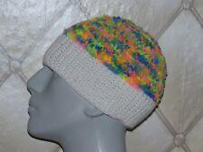NEUF hiver tricot épais SKI VINTAGE Bonnet laine très Multicolore décontracté