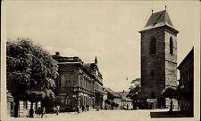 Český Brod Tschechien Česká Böhmen ~1940 Drogerie Innenstadt Turm Straße Stadt