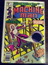 MACHINE MAN 13 [STEVE DITKO ART] VF MARVEL PA13-35