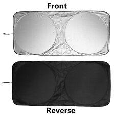 150x70cm Sonnenschutz Auto KFZ PKW Frontfenster Windschutzscheibe Sonnenblende