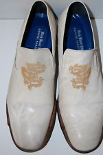 NEW MARK NASON MADE IN ITALY  MEN SHOES LEATHER  LOAFER (PRODUCER) SAND SIZE 11