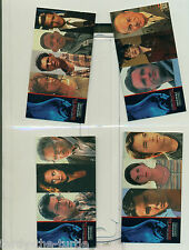 1996 Topps Independence Day Widevision Trading Card Set of 72 Cards Will Smith