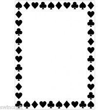 "Darice embossing folder 4 1/4"" x5 3/4"" - costume de cartes border - 1218-112 réduit"