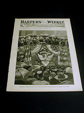 Harper's Weekly March 16, 1889 PRESIDENT HARRISON INAUGURATION In depth Issue