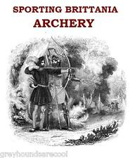 Archery Vintage Book Collection on Disc A Gift for the Archer Bowman Toxophilite