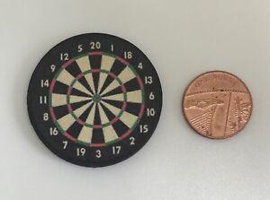 Dolls House Miniature Dart Board (DD289) Additional Items P&P FREE