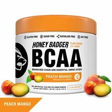 Honey Badger Vegan Keto BCAA - EAA Electrolyte Powder | Natural Gluten Free