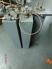 """EMR VHF Duplexer Repeater 5 can 4"""" square cavity combiner  64545/SNC,4SBC-1"""