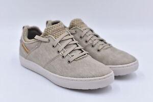 Men's Skechers Alven - Ravago Lace Up Sneakers, Tan, 8