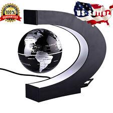 Magnetic Levitation Floating Globe World Map LED Light Fathers Day Gift