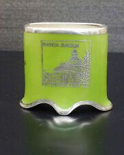 Silveroverlay Vase Porzellan Veyhl Baden-Baden Stourdza Kapelle русски