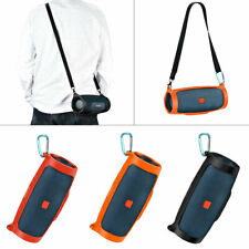 for Jbl Charge 4 3 Bluetooth Speaker Portable Shoulder Silicone Case Cover+Strap