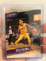 2017 Panini Prestige Kyle Kuzma #176 Rookie Los Angeles Lakers - QTY