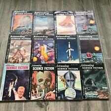 Astounding Science Fiction 1953 12 Issues Pulp EC L Ron Hubbard Comic Creepy