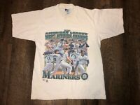 Vtg 1997 SEATTLE MARINERS T-SHIRT PRO PLAYER USA Youth Boys 14/16 SEE PICS!!