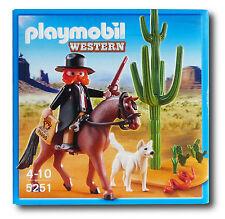 PLAYMOBIL Western 5251 Marschall #3052
